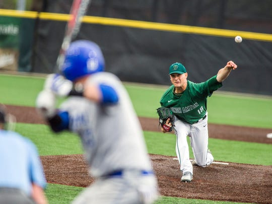 Vestal and Binghamton University graduate Nick Wegmann is pitching for the Seattle Mariners' Rookie League team.
