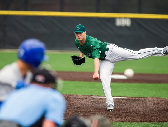 Binghamton University graduate Nick Wegmann made his professional debut Wednesday.