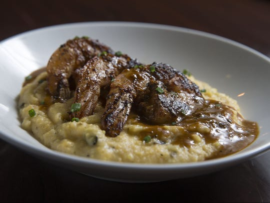Cajun shrimp and grits from 618 Restaurant in Freehold Borough. The restaurant is one of more than two dozen participating in The Center in Asbury Park's Shake, Rattle & Roll event next month.