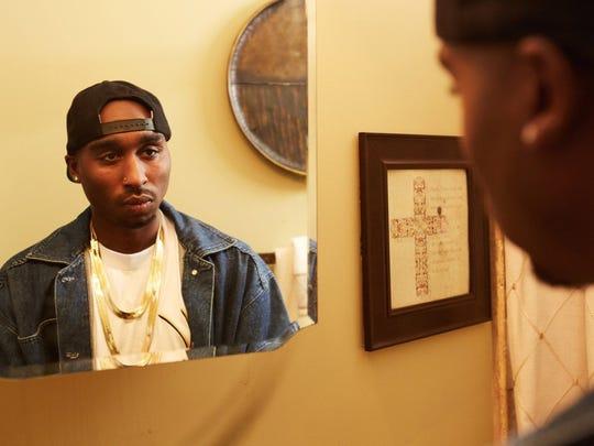 Demetrius Shipp Jr. in 'All Eyez on Me.'