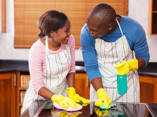 Sharing household chores is important