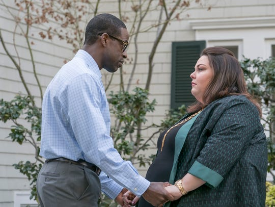 Sterling K. Brown is Randall and Chrissy Metz is Kate