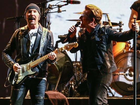 U2 The Edge Bono