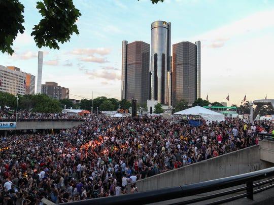 The annual Movement festival runs Saturday  through Monday  at Hart Plaza.