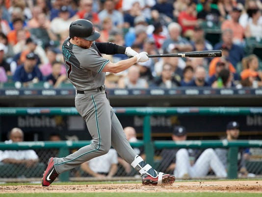 MLB: Arizona Diamondbacks at Detroit Tigers