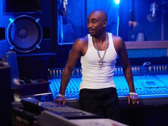 Acting newcomer Demetrius Shipp Jr. plays rapper Tupac