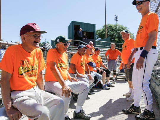 """Growing up, everyone played baseball,"" 95-year-old"