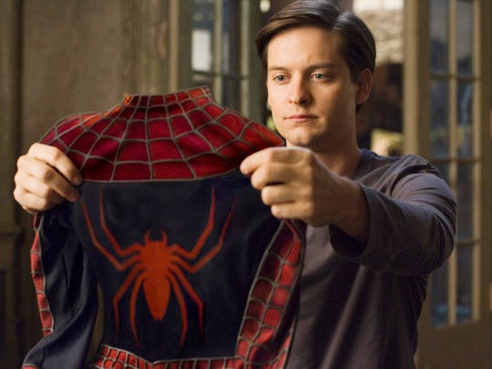 Tobey Maguire has played the web slinger in three movies.