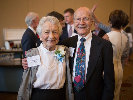 Dr. Sara Hoyt and her husband, Rev. William Hoyt, at