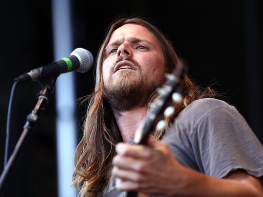 Musician Lukas Nelson of musical group Lukas Nelson