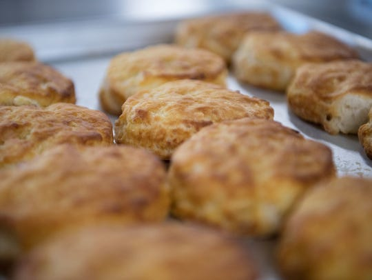 Bojangles' is known for its buttermilk biscuits.