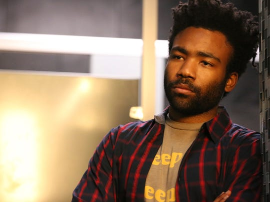 Donald Glover portrays Earnest Marks in the comedy