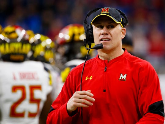 Maryland, behind coach D.J. Durkin, seems to have momentum