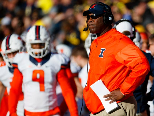 The thought process in Champaign is that Lovie Smith