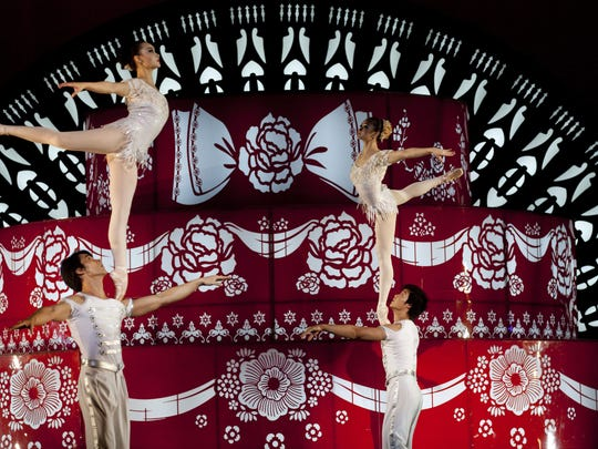 The National Acrobats and Martial Artists of China perform in November at the State Theatre in New Brunswick.