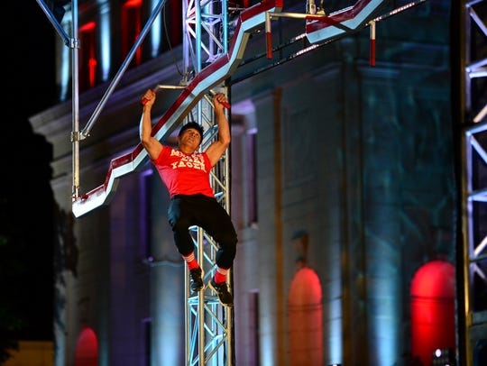 "Dan Yager started competing on NBC's ""American Ninja"