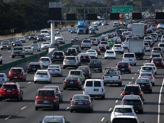 Generic traffic shot