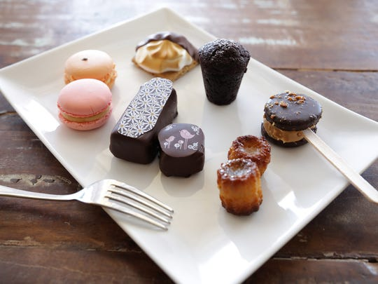 A few of the exquisite handcrafted desserts available