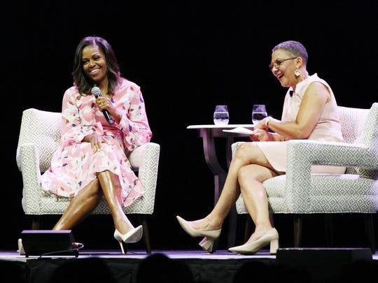 DENVER, CO - JULY 25:  Former First Lady Michelle Obama