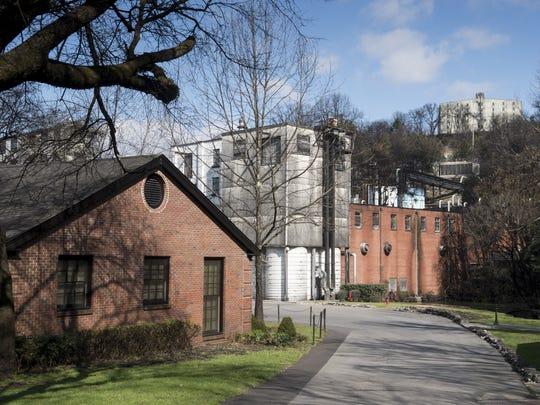Jack Daniel's sprawling distillery in Lynchburg, Tenn.