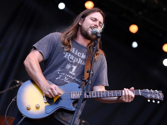 Lukas Nelson of  Lukas Nelson & Promise of the Real performs during Arroyo Seco Weekend in Pasadena, California, on June 25.