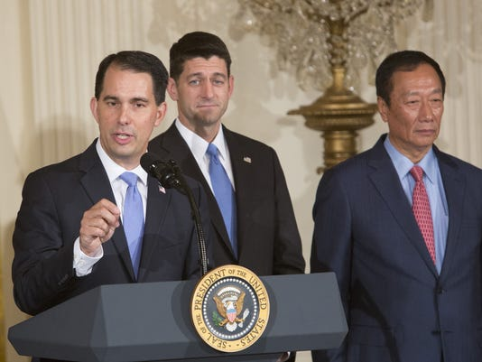 A blind proposal, a summons to Washington and a jet trip: Wisconsin's drive to win Foxconn