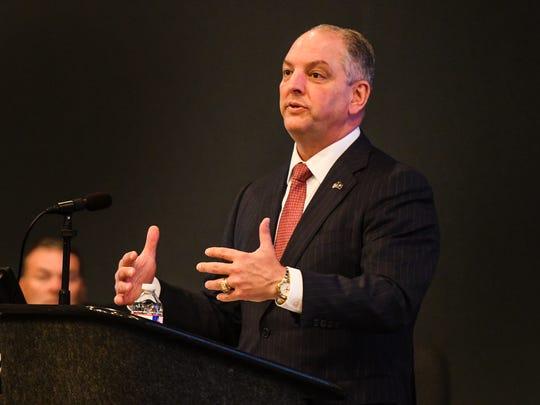 Gov. John Bel Edwards kicks off the Louisiana resiliency