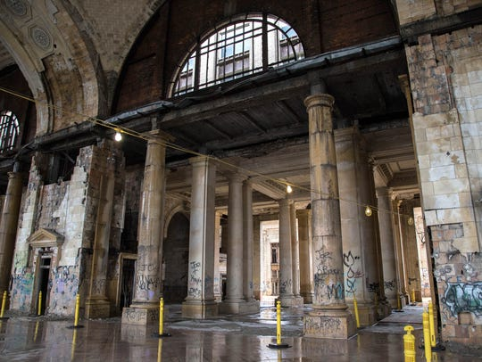 Michigan Central Station in Detroit in July 2017.
