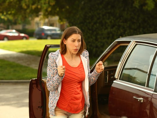 Eden Sher plays perky Sue Heck on ABC's 'The Middle.'
