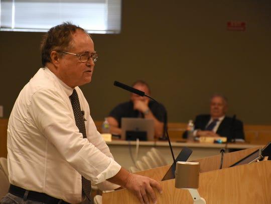 Waterways Advisory Committee Chairman Phares Heindl