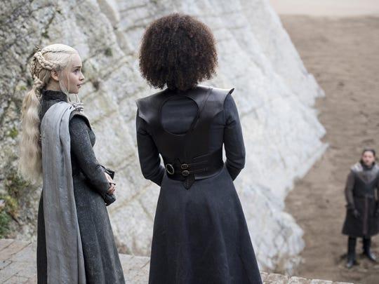 Episode 4 of Game of Thrones, season 7: Emilia Clarke,