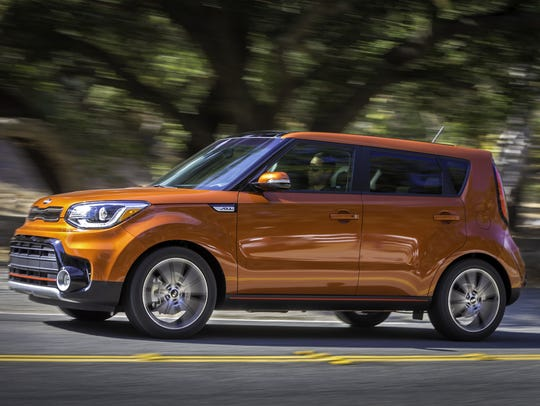 The 2017 Kia Soul Turbo is zippy corner to corner and