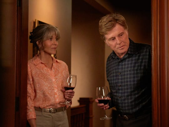 Addie (Jane Fonda, left) and Louis (Robert Redford)