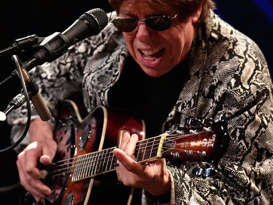 George Thorogood Performs on SiriusXM's B.B. King's Bluesville Channel at The SiriusXM Studios in Washington D.C.