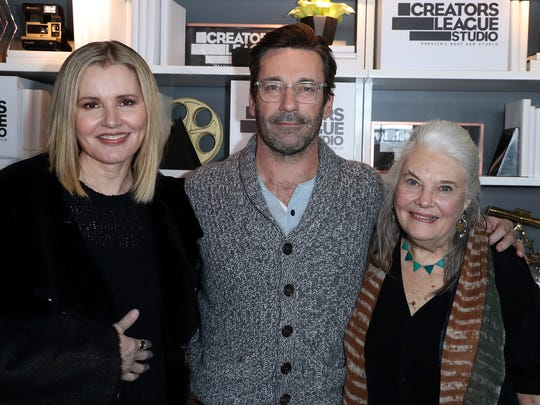 Geena Davis, Jon Hamm and Lois Smith attends theCreators League Studio At 2017 Sundance Film Festival - Day 6  on January 24, 2017 in Park City, Utah.  (Photo by Jonathan Leibson/Getty Images for PEPSICO Creators League Studios)