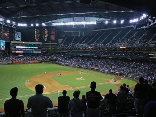 Chase Field has been a site of contention in 2017,