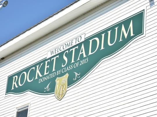 Rocket Stadium, home of the James Buchanan Rockets.