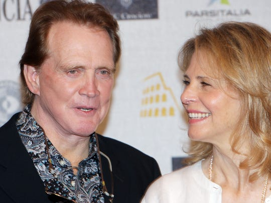 Lee Majors of the television series 'The Six Million Dollar Man' and Lindsay Wagner of 'The Bionic Woman' attend the third day of Roma Fiction Fest 2008 in Rome, Italy.