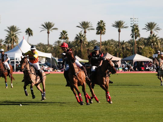The Empire Polo Club in Indio.