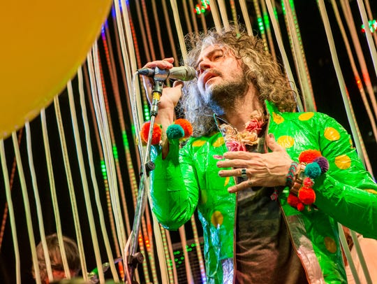 Wayne Coyne and the Flaming Lips will perform at Farm