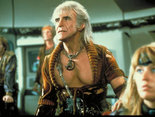 Khan (Ricardo Montalbán) seeks revenge in 'Star Trek