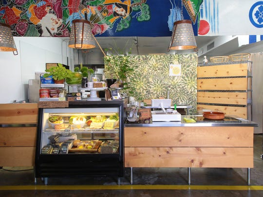 Chef Tanya's Kitchen offers vegan food to-go out of its kitchen storefront, August 23, 2017.