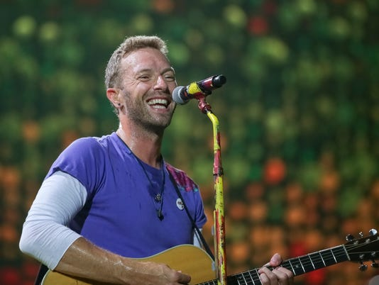 AP COLDPLAY IN CONCERT - LANDOVER, MD A ENT USA MD
