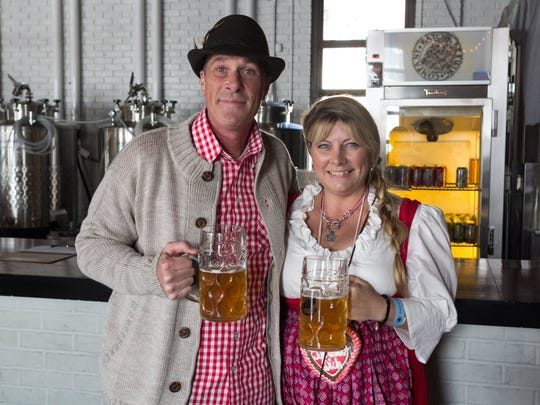 Batch Brewing Company in Corktown celebrated its first Oktoberfest in 2015.