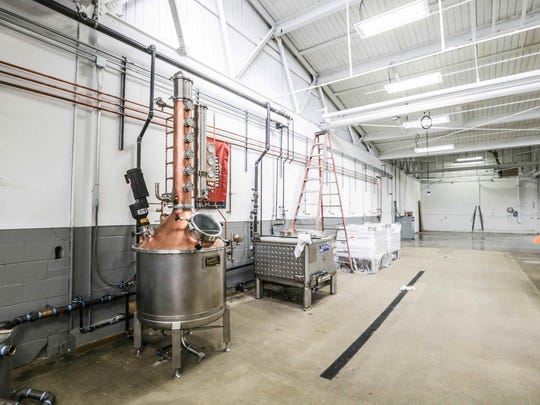 Production facility for the 8th Day Distillery, located
