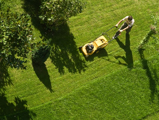 With all the work that some lawns require, Mark Wojciechowski