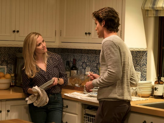 Reese Witherspoon (left) and Pico Alexander have a
