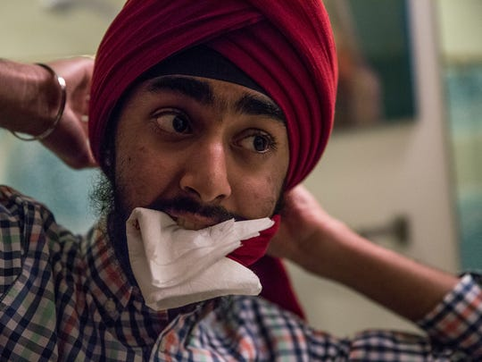 "JJ Singh Kapur, calling himself a ""clean freak,"" bites"