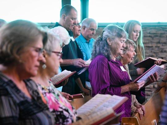 Members of the Centenary United Methodist Church on
