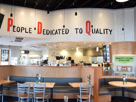 PDQ stands for People Dedicated to Quality. The first